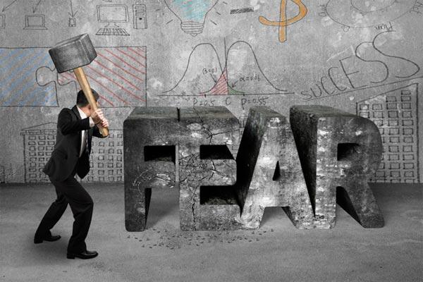 غلبه بر ترس ها